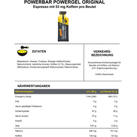 PowerBar PowerGel Original Box Espresso 24 x 41g